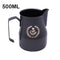 350/450/700ml Italian Stainless Steal Teflon Coffee Milk Jug