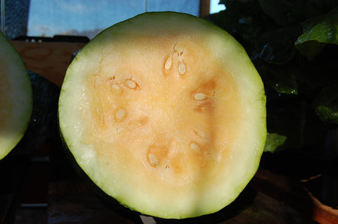 Moon and Stars Yellow Watermelon