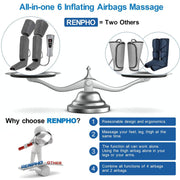 Air Compression Leg Massager Massager Renpho