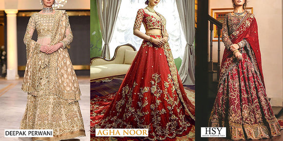 Top Pakistani Bridal Dress Designers 2021