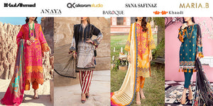 Top 20 Clothing Brands & Lawn Brands 2021 in Pakistan