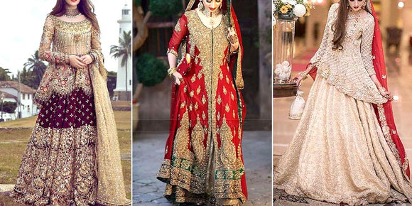 Designer Replica Wedding Dresses 2021 in Pakistan