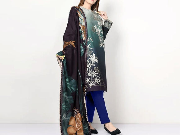 Limelight Replica Embroidered Lawn Dress (DZ12779)