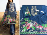 Sapphire Replica Embroidered Lawn Dress (DZ12875)