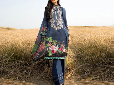 Embroidered Lawn Dress (DZ12875)