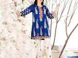 2-Pcs Embroidered Lawn Dress (DZ13069)