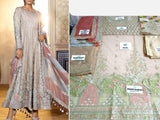 Maria B Replica Heavy Embroidered Net Maxi Dress (DZ13183)