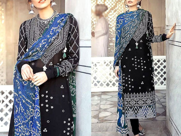 Embroidered Cotton Dress (DZ13494)