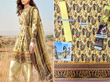 Printed Khaddar Dress (DZ13575)