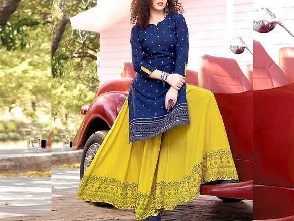 2-Pcs Heavy Embroidered Lawn Dress (DZ13724)