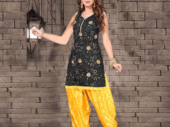 2-Pcs Embroidered Lawn Dress with Embroidered Trouser (DZ13776)