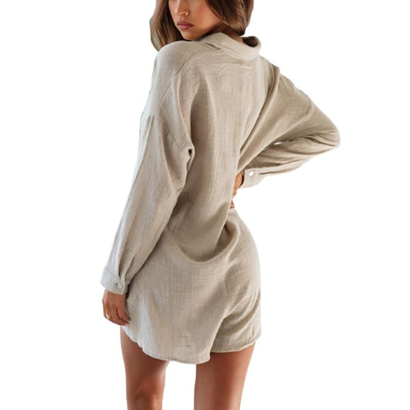 Long Sleeve Loose Romper