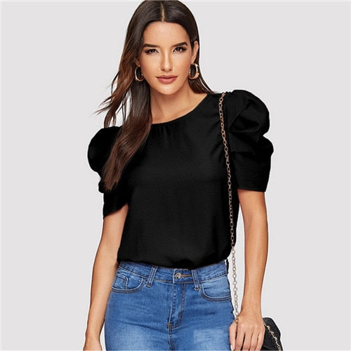 Puff Sleeve Blouse