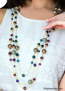 Mix Colors Layer Necklace