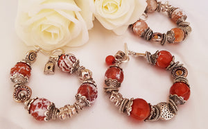 Charm Bracelet With Agate