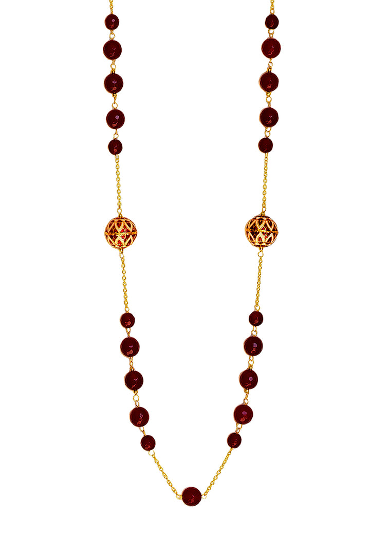 Azana Necklace (Red)