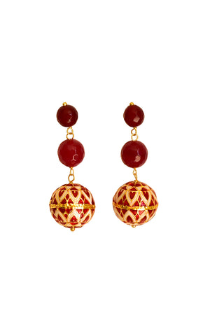Azana Earrings (Red)