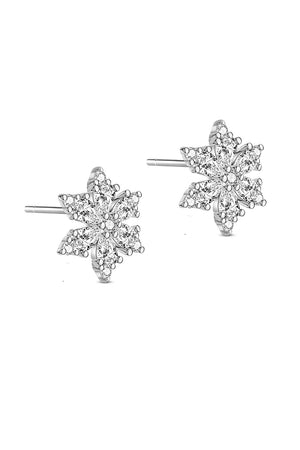 Belle Snowflake Earrings