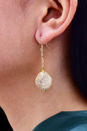 Natasha Nugget Dangle Earring