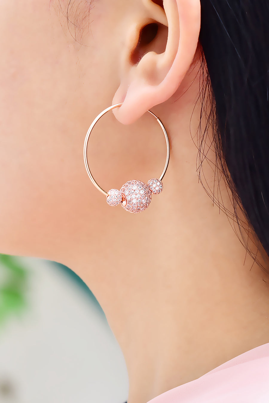 Farah Hoop Earrings