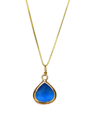 Drop Pendant Necklace