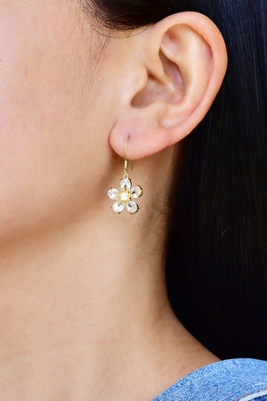 Vinca Dangle Earrings