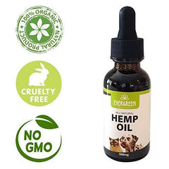 Hemp Oil for Dogs and Cats 500mg Helps Relieve Anxiety with a Full Spectrum of Hemp Extract for Pets, Helps with Pet Hips and Joint Relief with a Calming Effect for Your Cat or Dog