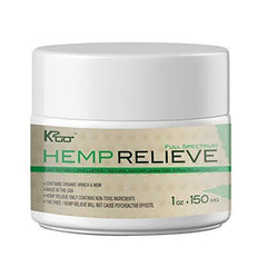 Organic Virgin Hemp Extract Pain Relief Cream 150 mg plus Arnica and MSM Introductory price