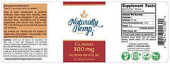 Naturally Hemp Oil 300mg Gummies - 30 ct - Full Spectrum Hemp Oil Gummies - May Help with - Pain - Anxiety - Stress - Inflammation - Sleep Aid and Much More. (300 MG)