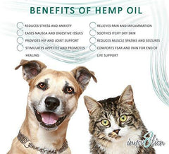 innov8tion Hemp Oil for Dogs and Cats | 750 mg | Relieve Your Pets Arthritis, Joint Pain, Muscle Spasm, and Anxiety | All-Natural | Safe and Easy to Use | Non-Toxic | Grown in The USA | 1 oz