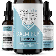 Dog Calming Aid - Hemp Oil for Dogs - Calming Extract for Stress and Anxiety Support - Omega 3 and 6 Fatty Acids - Hip and Joint Pain Support for Dogs - 1oz 250mg