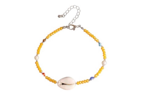 Elise anklet | yellow