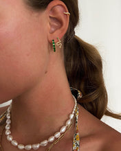 Load image into Gallery viewer, Viga earrings | green/white