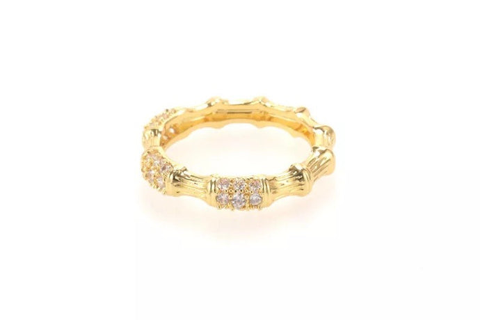 Bamboo ring | gold