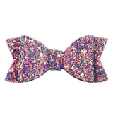 Glitter Hair Bows Kids