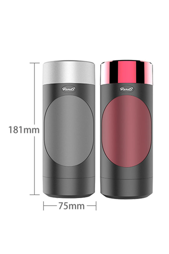 Built-in Voice Rends Vibrating Male Masturbator Cup