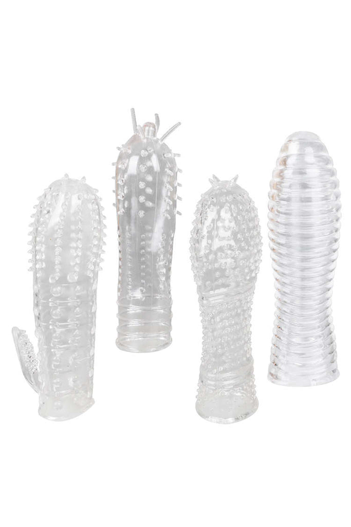 MizzZee Super Stretchy textured Penis Sleeve Kit