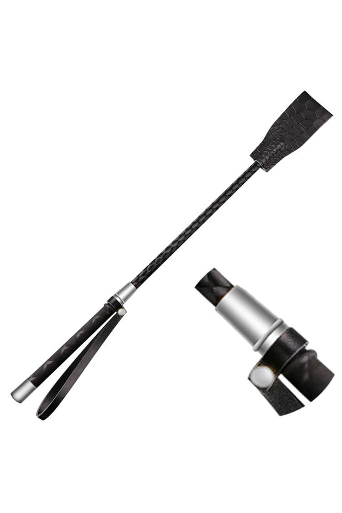 Dual Ends Leather Classic Spanking Riding Crop