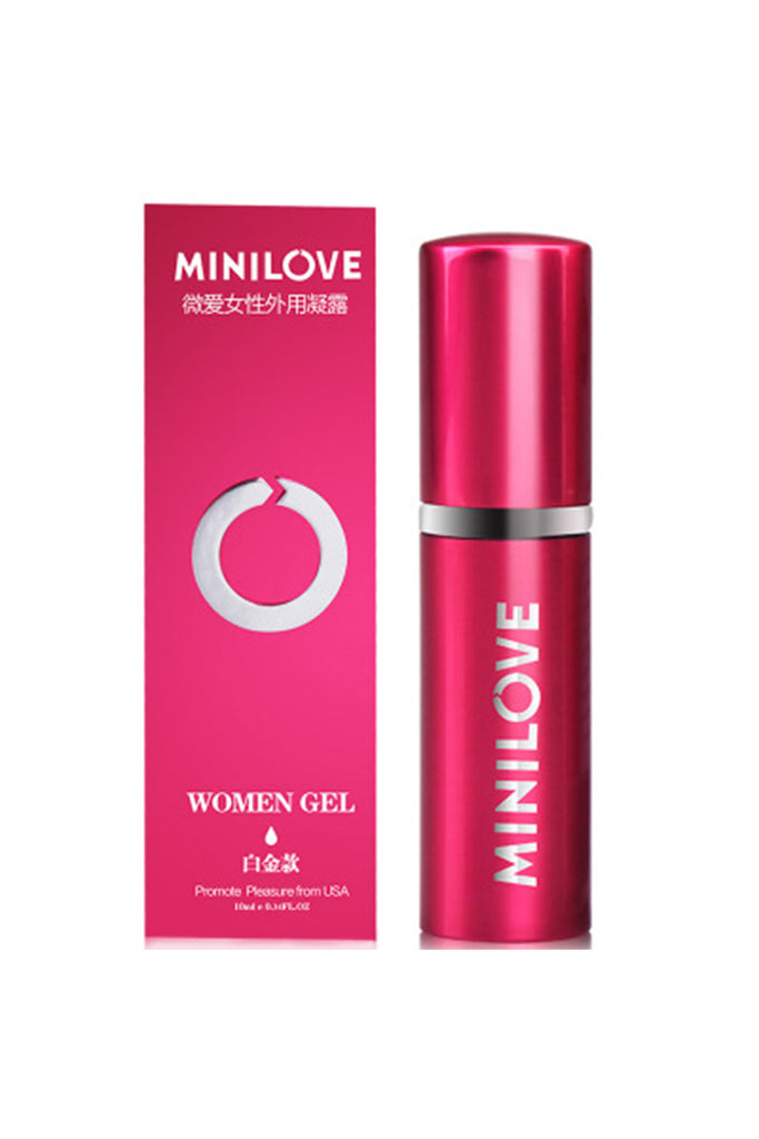 MiniLove Orgasmic Gel for Women Red 10ml