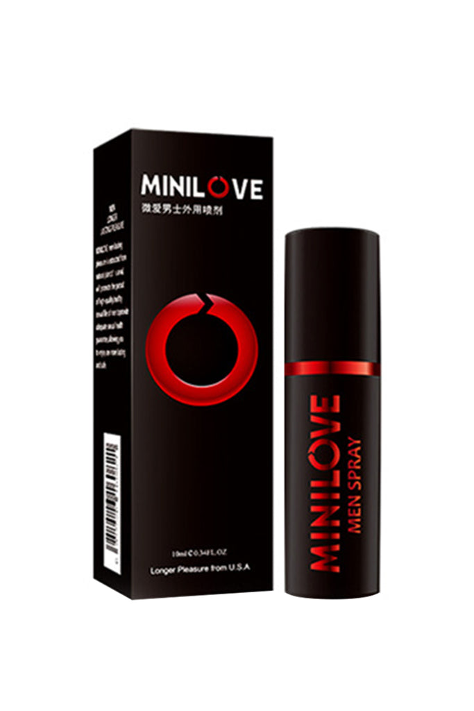 MiniLove Organic Oil Delay Spray for Men Red 10ml
