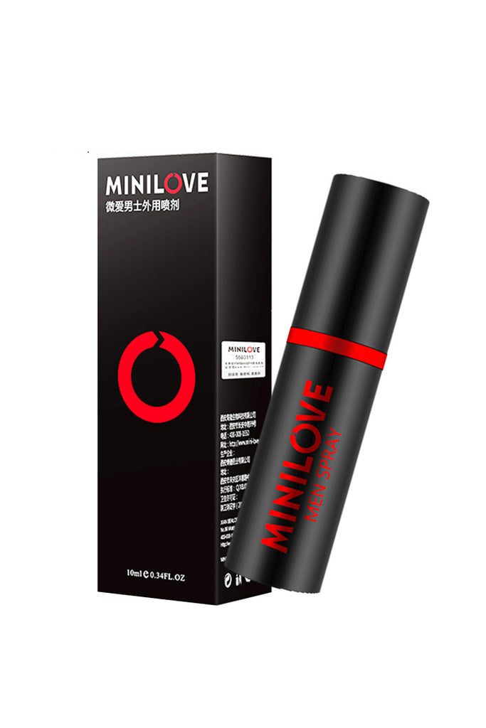 MINILOVE Herbal Delay Spray Sexual Performance Enhancers for Men 10mL