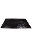 Waterproof PVC Bed Sheet Black
