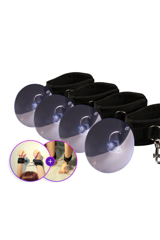 Shower Power Suction Wrist and Ankle Cuffs