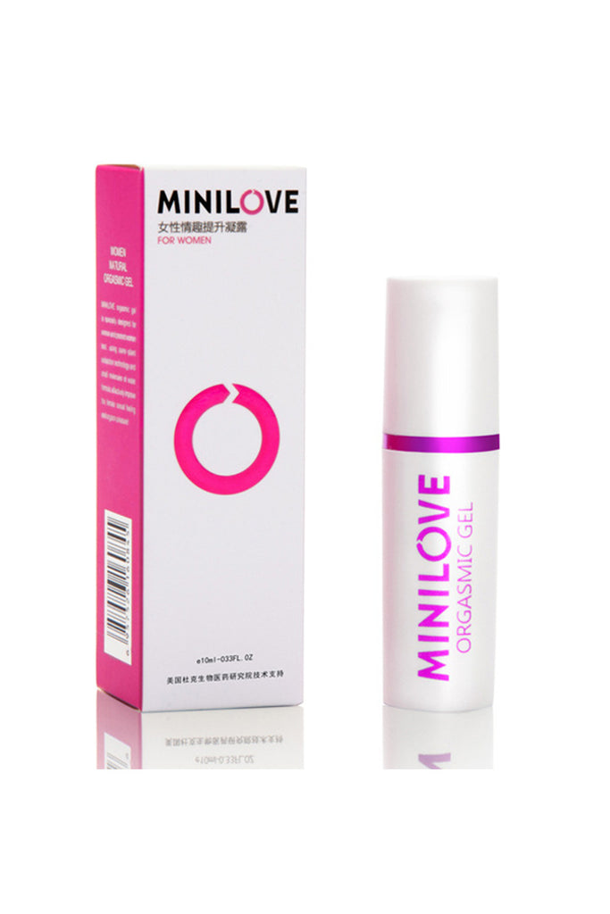MINILOVE Water-Based Orgasmic Gel Secure Sex Enhancer Purple  10ml