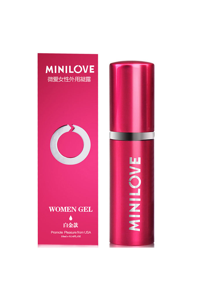 MINILOVE Women Orgasmic Gel Water-Based Natural Promote Pleasure Rose Red 10ml