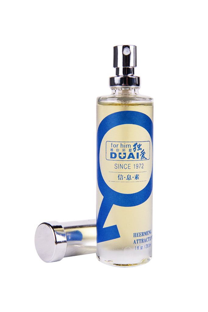 DUAI Romantic Heermeng Pheromone Perfume to Attract Women Men 29.5ml