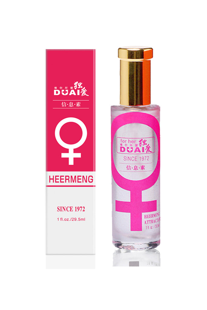 DUAI Romantic Heermeng Pheromone Perfume for Her to Attract Men 29.5ml