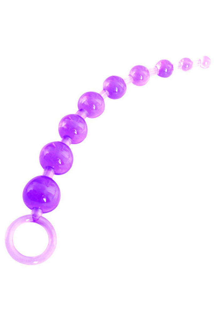 Skin-Friendly TPE Beaded Anal Plug