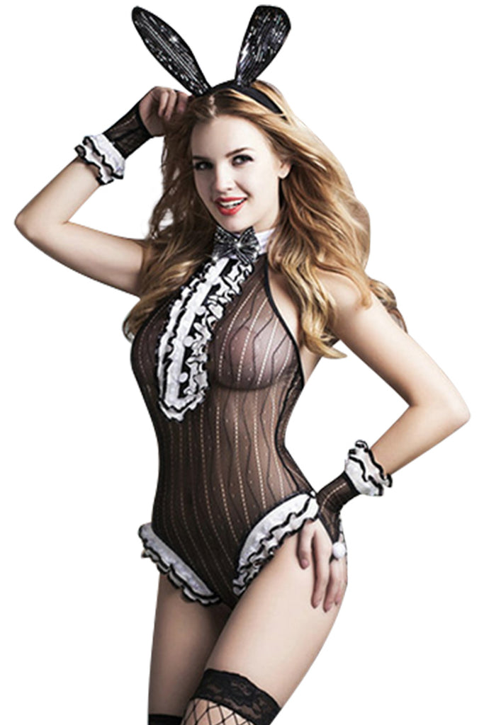 Erotic Sexy Bunny Girl Costume Roleplay Set