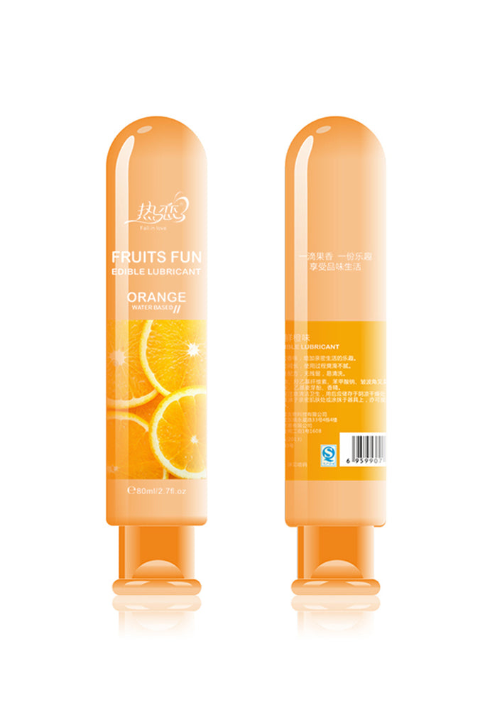 Edible Fruit Flavoured Water-Based Lubricant 5 Styles 2.7oz